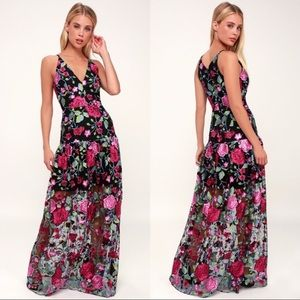 """Dress the Population """"Leticia"""" Gown"""